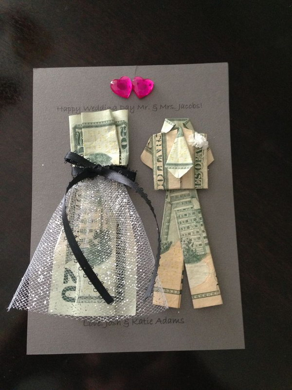 Money Suit and Dress Origami .