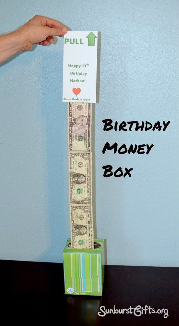 Easy Peasy Money Box Gift.
