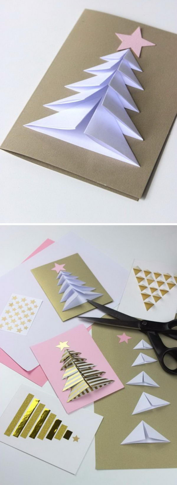 20+ Handmade Christmas Card Ideas 2017