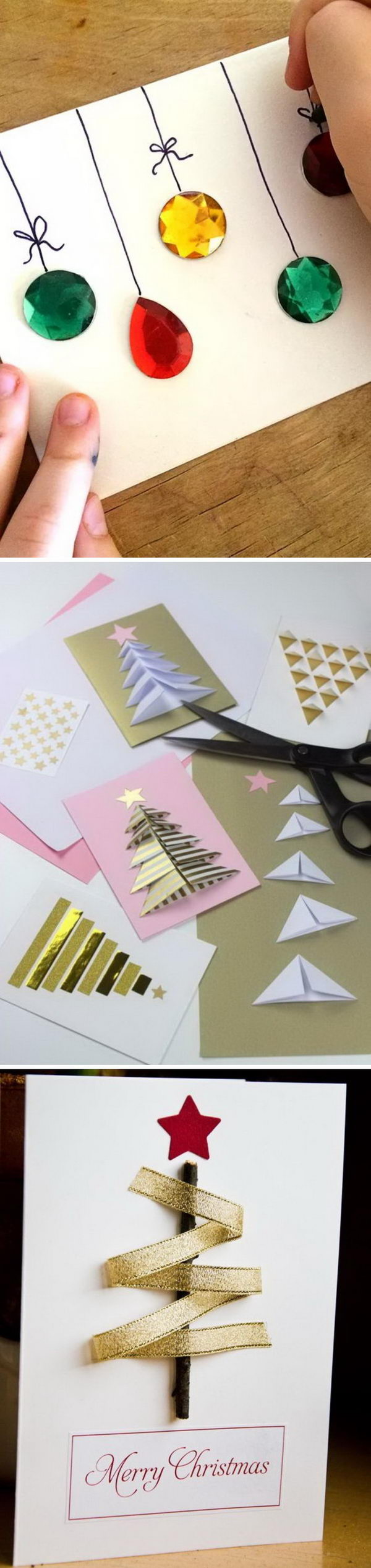 Handmade Christmas Card Ideas.