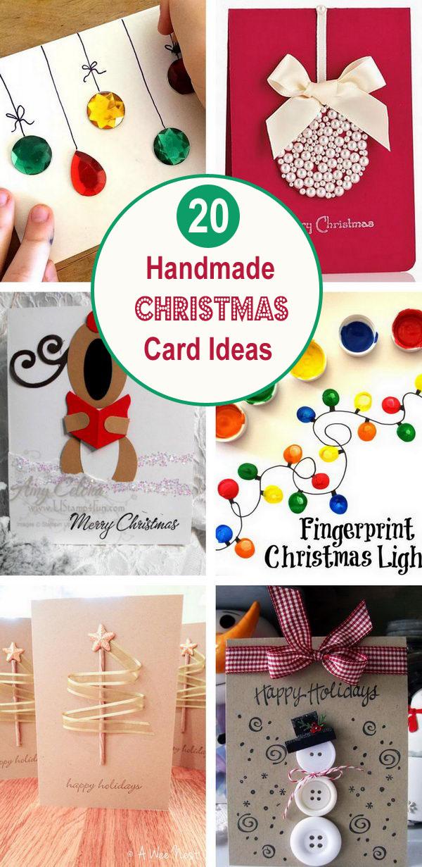 Handmade Christmas Card Ideas.