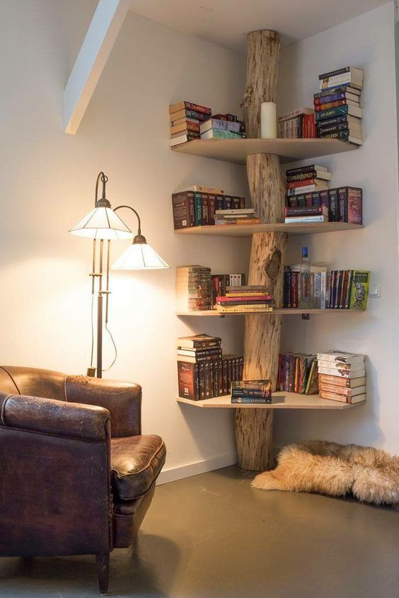 Corner Shel 20 Diy Corner Shelves To Beautify Your Awkward Corner 2017