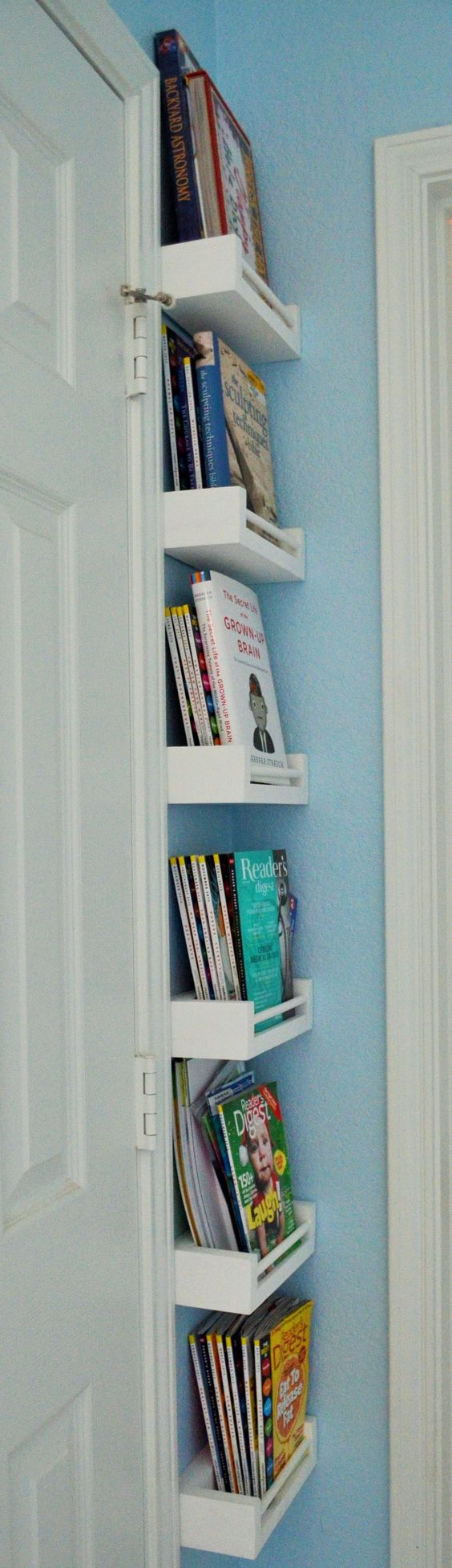 20 diy corner shelves to beautify your awkward corner 2017 - Small space toy storage ideas decor ...