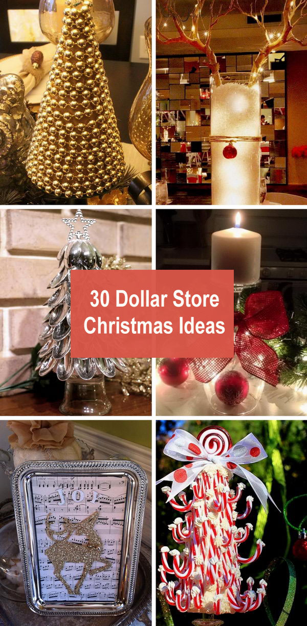 30 Dollar Store Christmas Ideas.