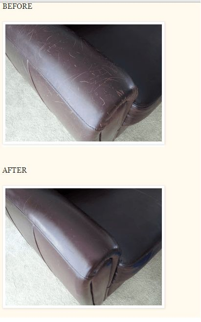 How to Remove Scratches from Leather.