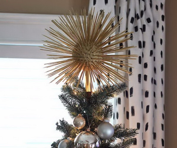Awesome DIY Christmas Tree Topper Ideas & Tutorials 2017