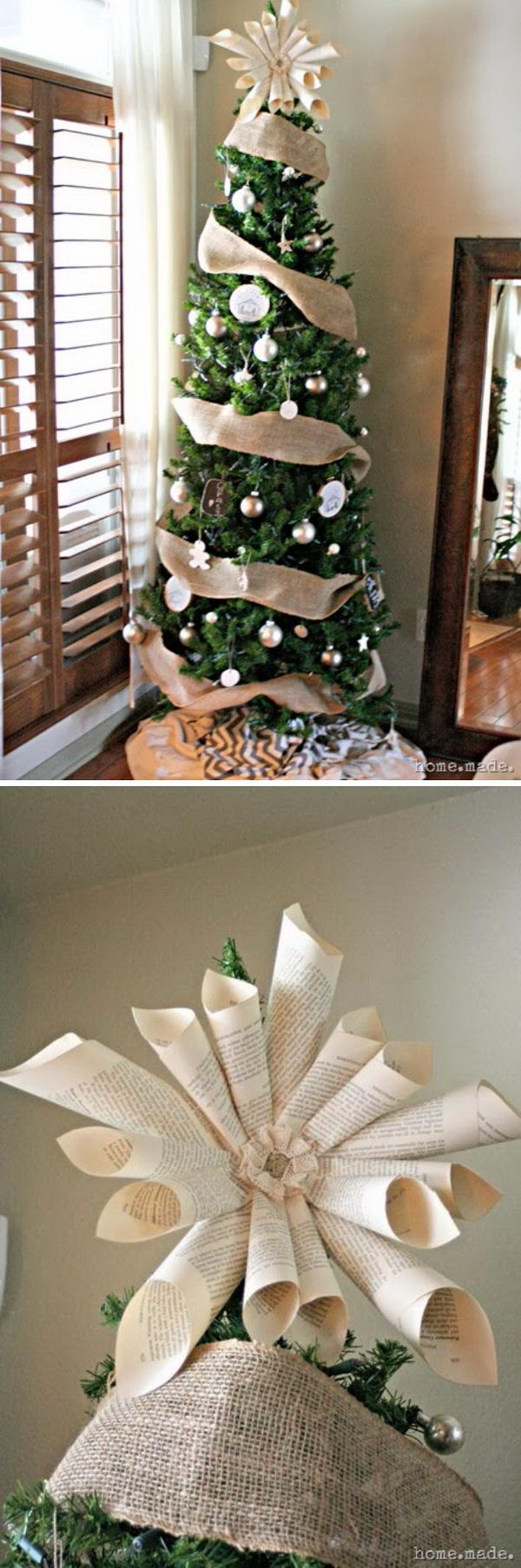 Awesome Diy Christmas Tree Topper Ideas Tutorials 2017