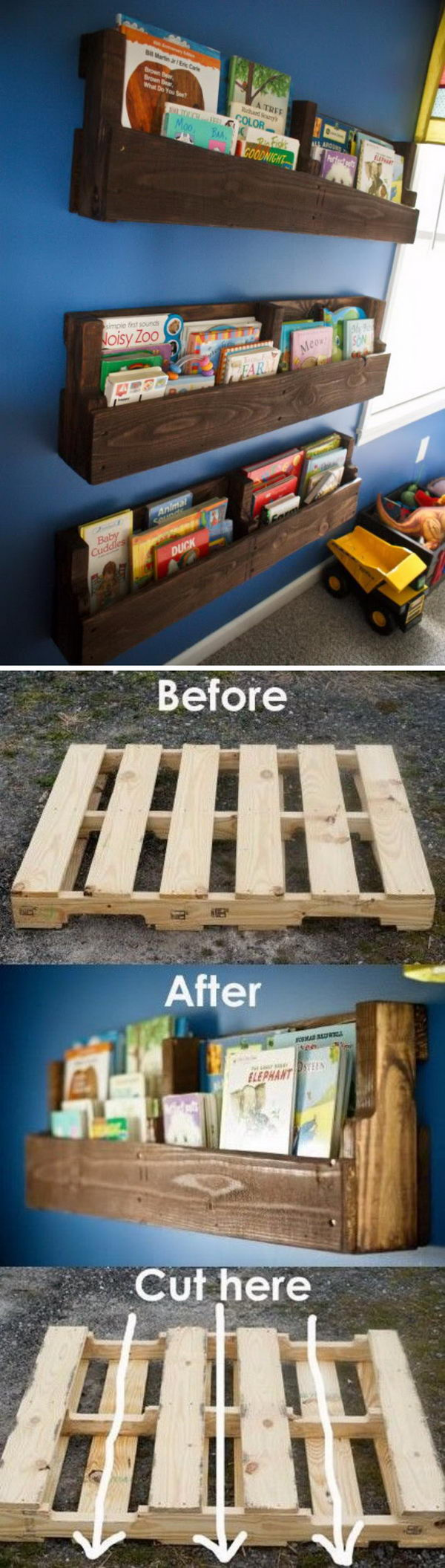 20 Cool DIY Shelf Ideas to Spruce Up Your Boy's Room Wall 2017