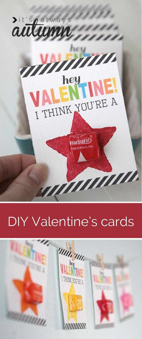 Easy Valentine's Day Cards.