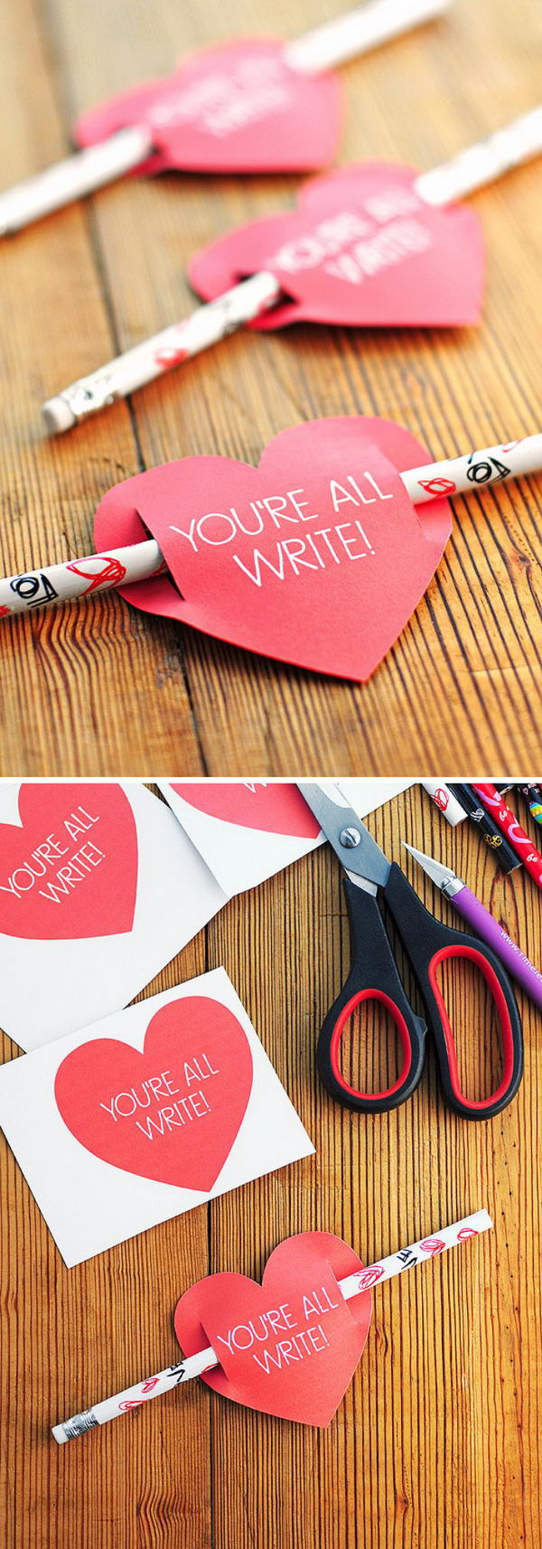 Kids Valentines Day Card Free Printable.