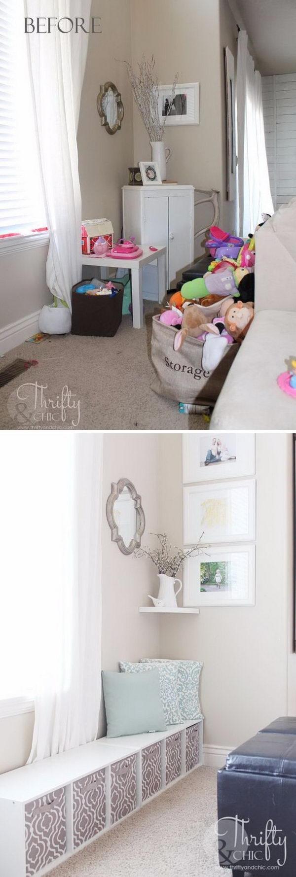 Hidden Play Area in Your Living Room.