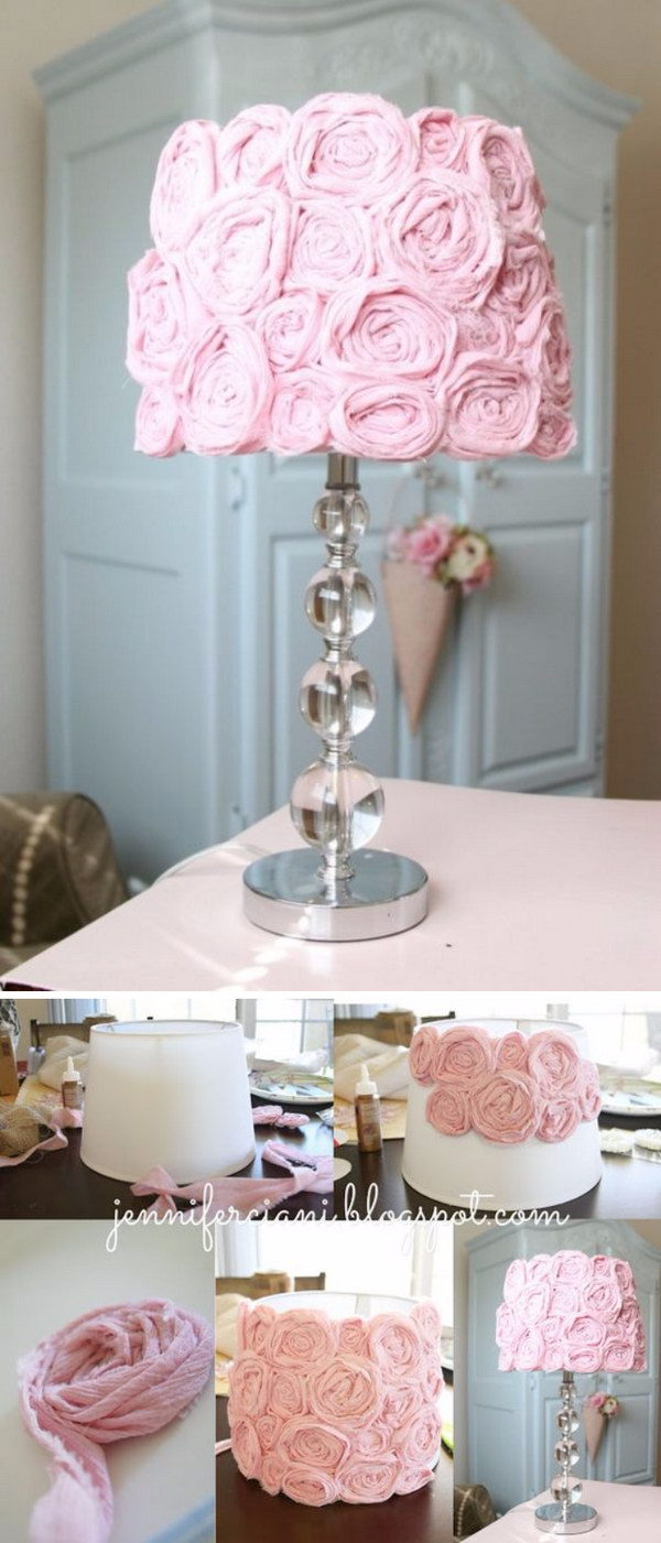Shabby Chic Lamp Shade.