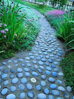 Pebble Pathway.