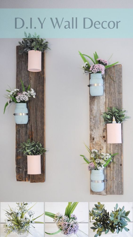 DIY Home decor with a Pallet or Barn Wood.