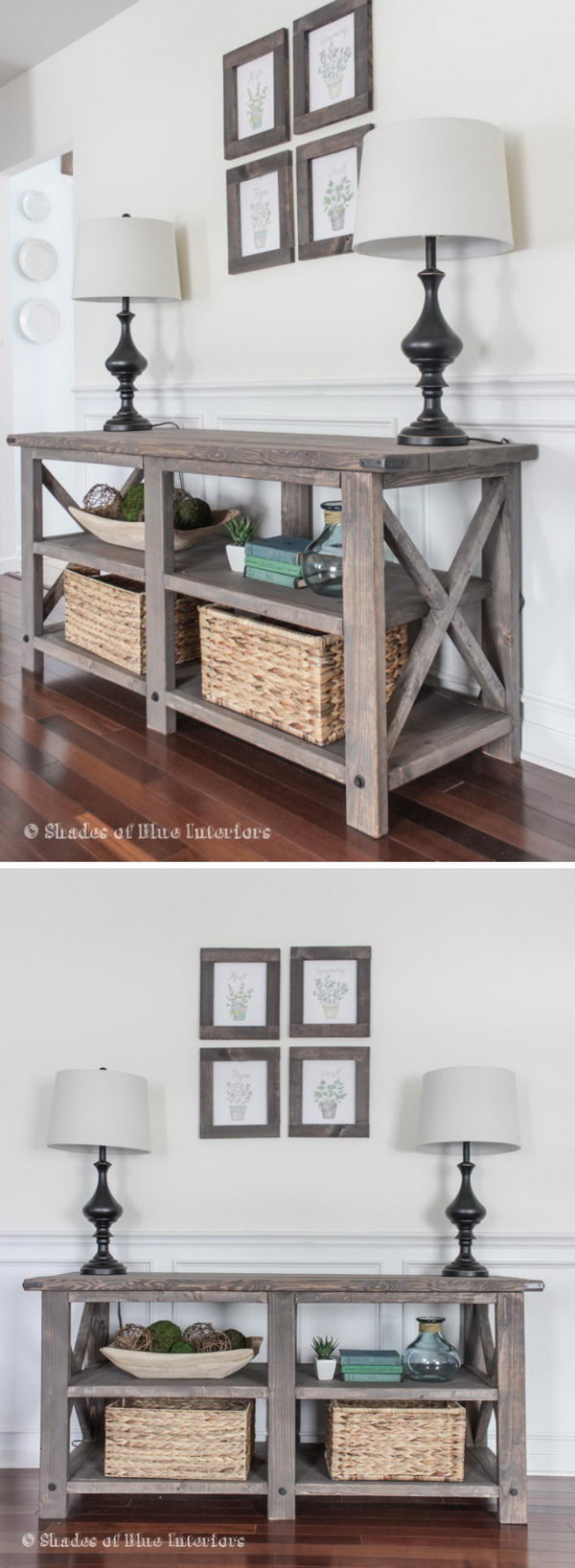 20 Easy Diy Console Table And Sofa Ideas 2017
