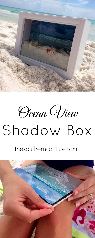Ocean View Shadow Box.