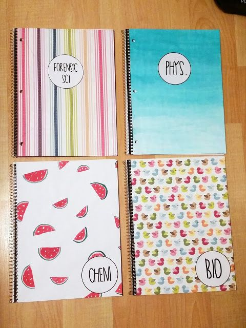 Easy DIY Notebooks.