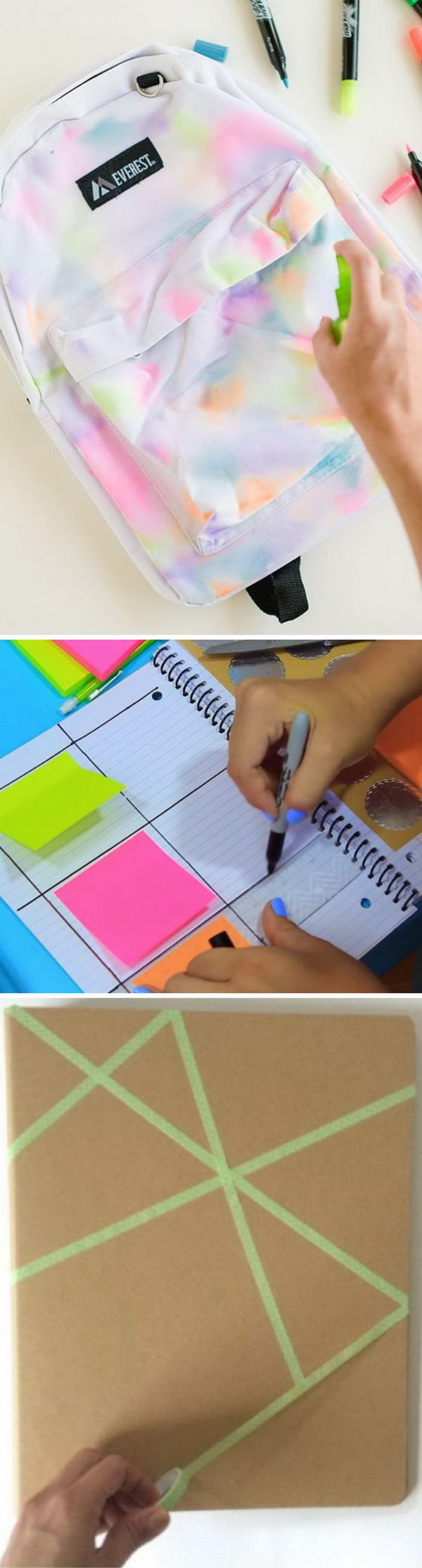 Easy DIY Back to School Projects.