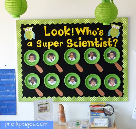 Who's a Super Scientist.