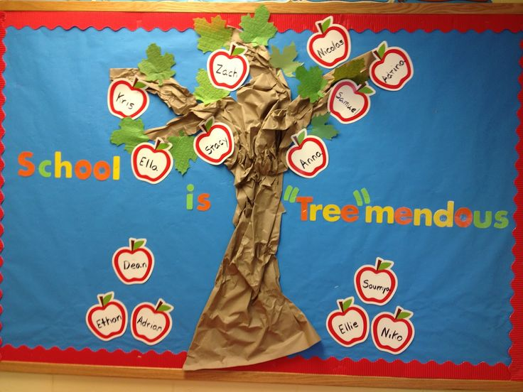 Welcome Back Bulletin Boards For Preschool.