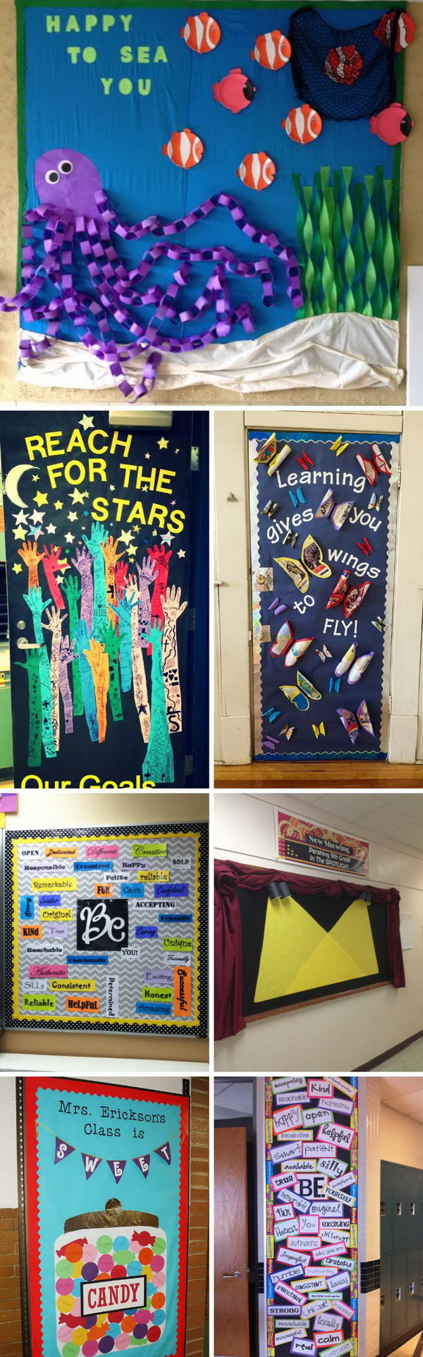 Creative Classroom Idea ~ Creative bulletin board ideas for classroom decoration