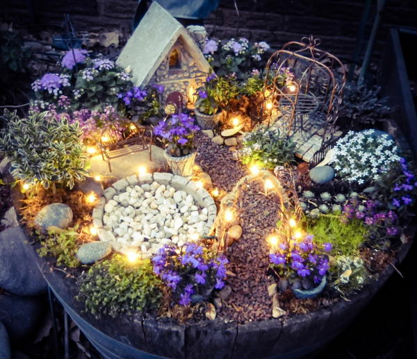18 Beautiful Fairytale Garden Ideas: 40 Fabulous DIY Fairy Garden Ideas 2017