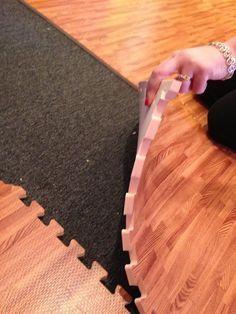 Foam Flooring That Looks Like Wood.