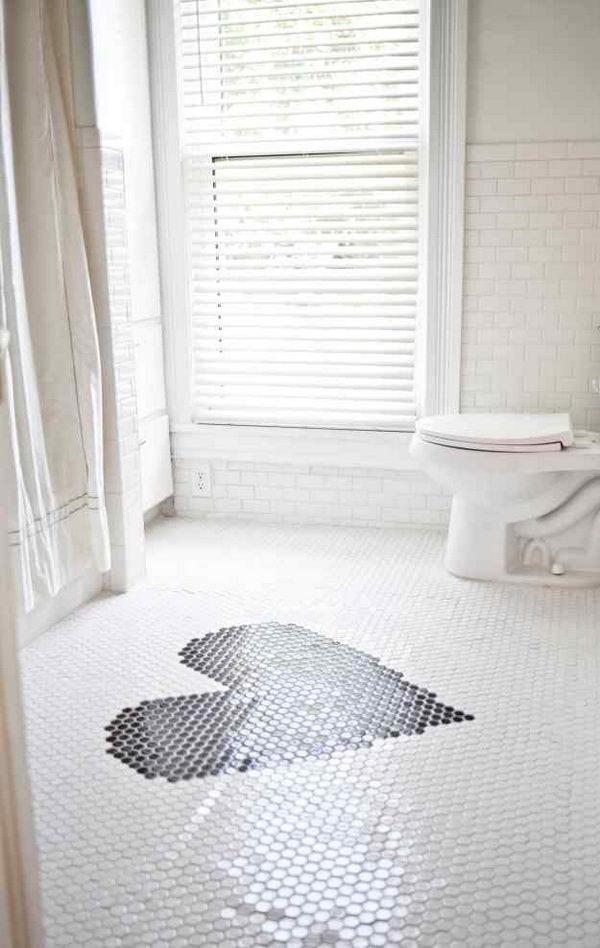 Heart Patterned Floor.