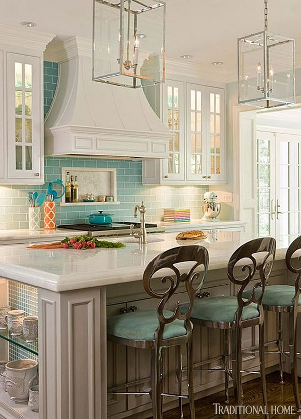 50 Best Kitchen Backsplash Ideas For 2017: 40+ Best Kitchen Backsplash Ideas 2017