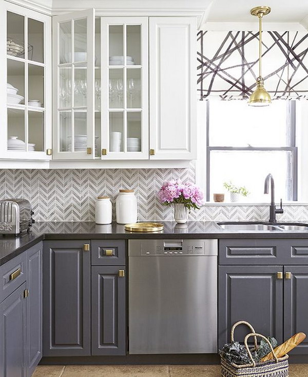 48 Best Kitchen Backsplash Ideas 48 Simple Kitchen Backsplash Ideas With White Cabinets