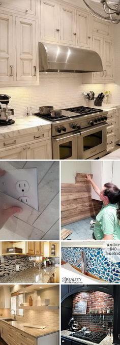 Best Kitchen Backsplash Ideas.
