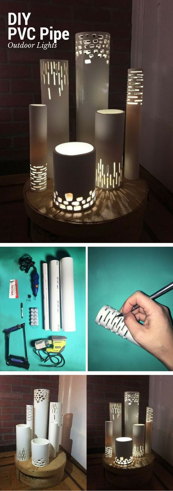 PVC Pipe Lights.