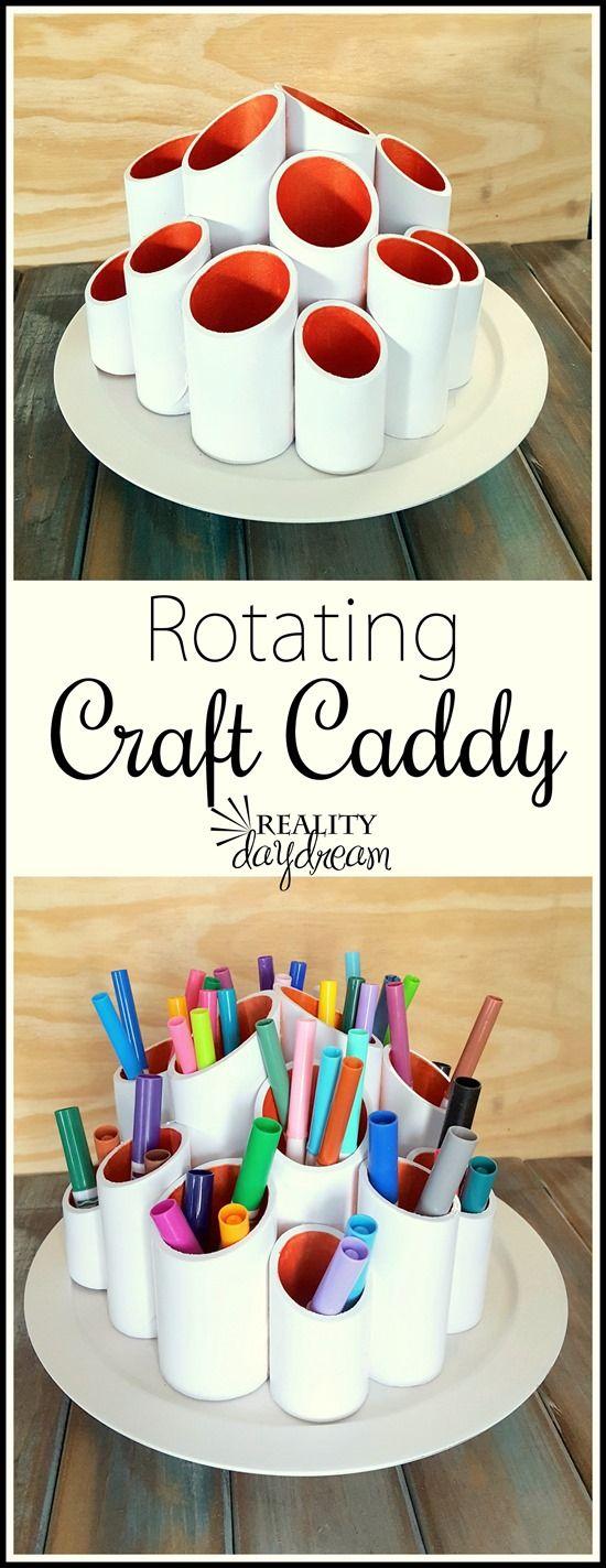 Rotating Craft Caddy.