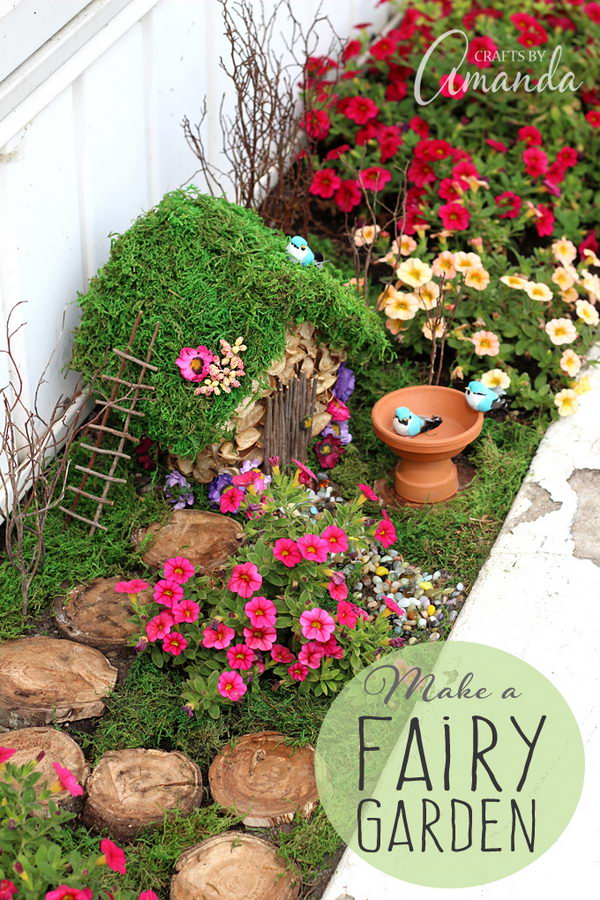 A Fairy Garden Brings Cheer into the Garden.