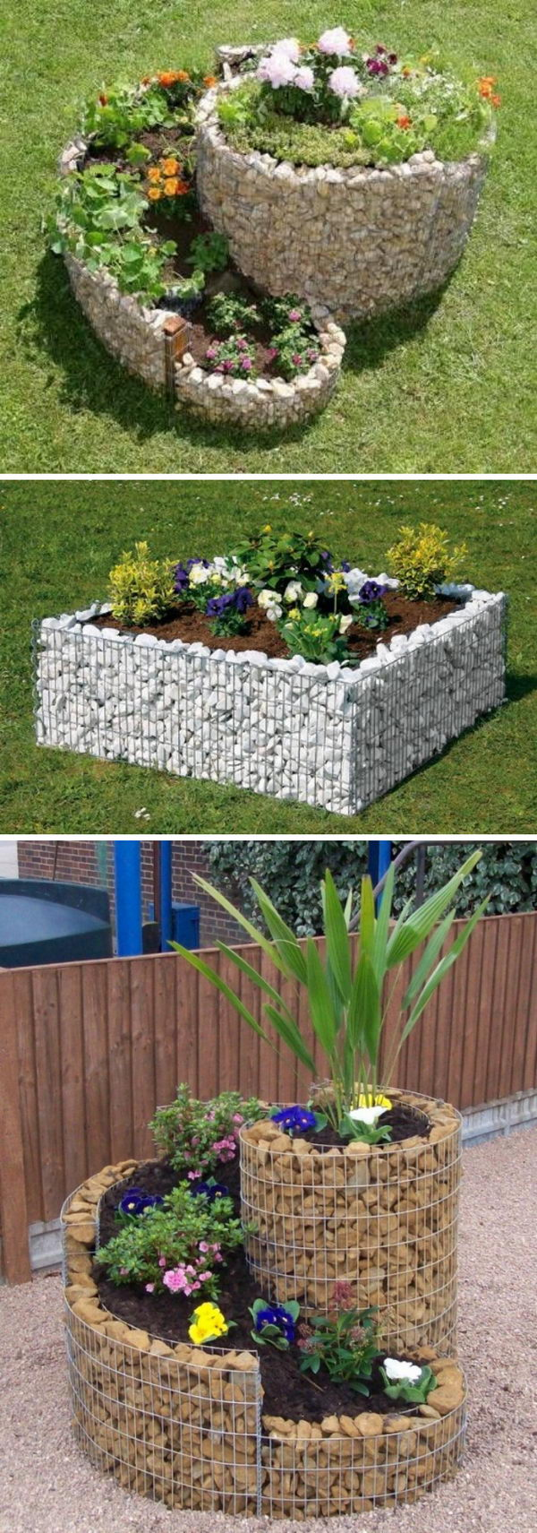 Make a Stunning White Rock Planter.