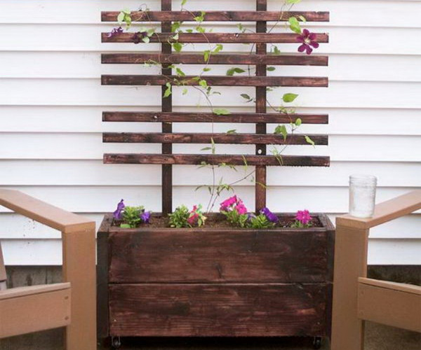 13 trellis ideas diy thumb