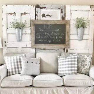 40 Rustic Wall Decor DIY Ideas
