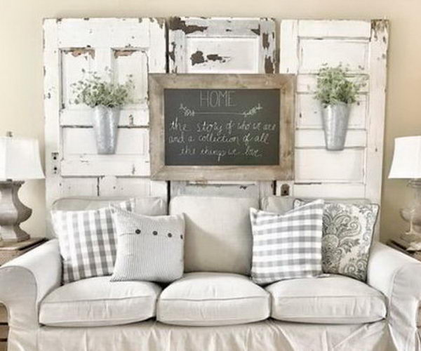 40 rustic wall decor diy ideas thumb