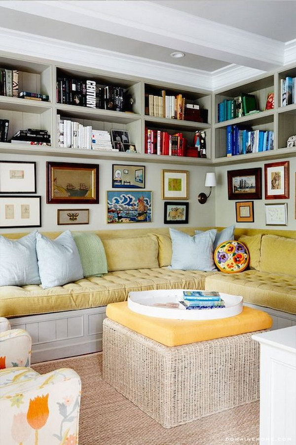 Ceiling Shelves Can Create More Storage.