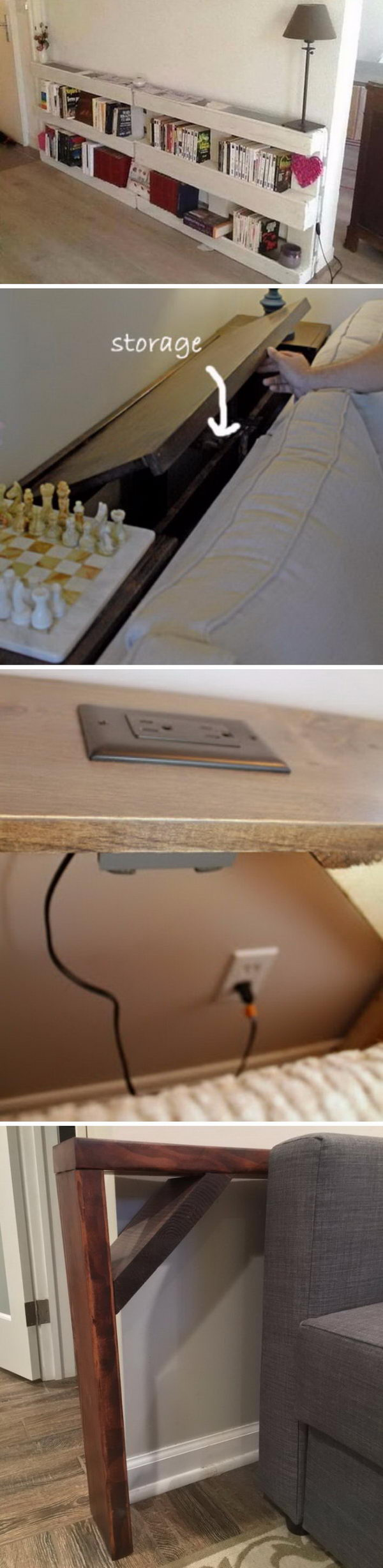 Creative Behind The Couch DIY Projects.