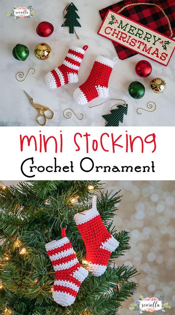 25 Free Christmas Crochet Patterns For Beginners 2017