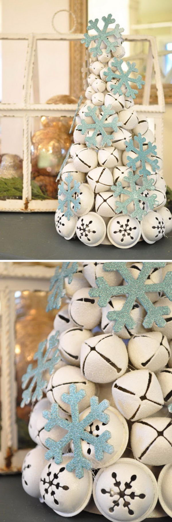 DIY Jingle Bell Tree.