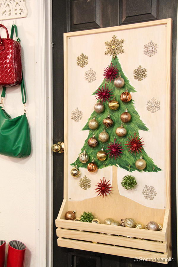 Christmas Tree Advent Calendar.