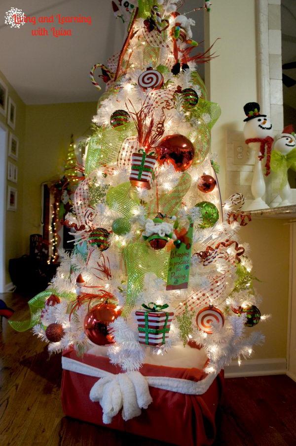 Whimsical Christmas Tree Stand.