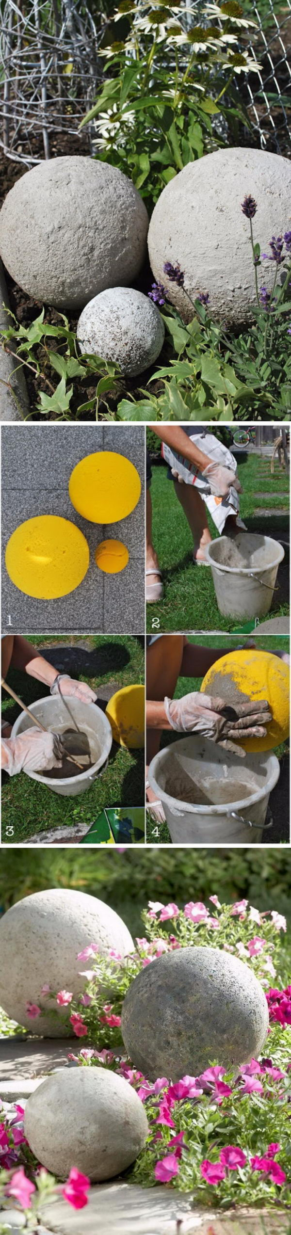 30 diy concrete projects for your garden 2017