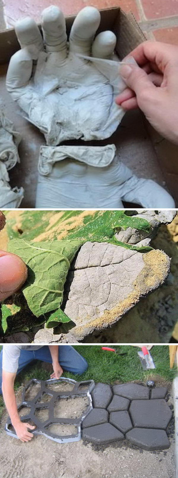 DIY Concrete Projects for Your Garden.