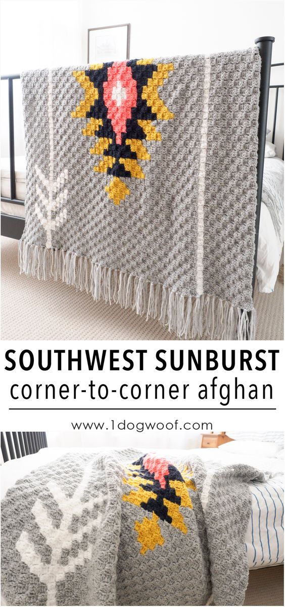 30 Free Crochet Patterns For Blankets 2017