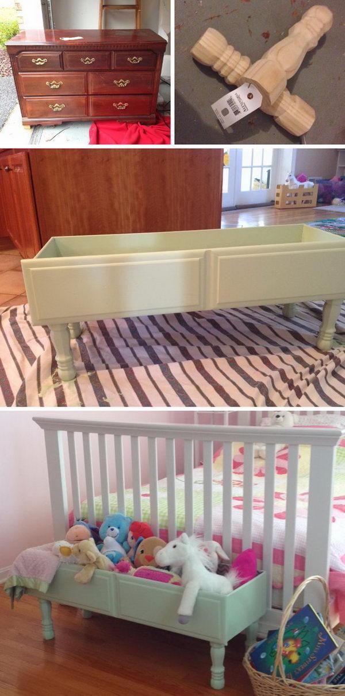 Dresser Drawer to Storage Box.