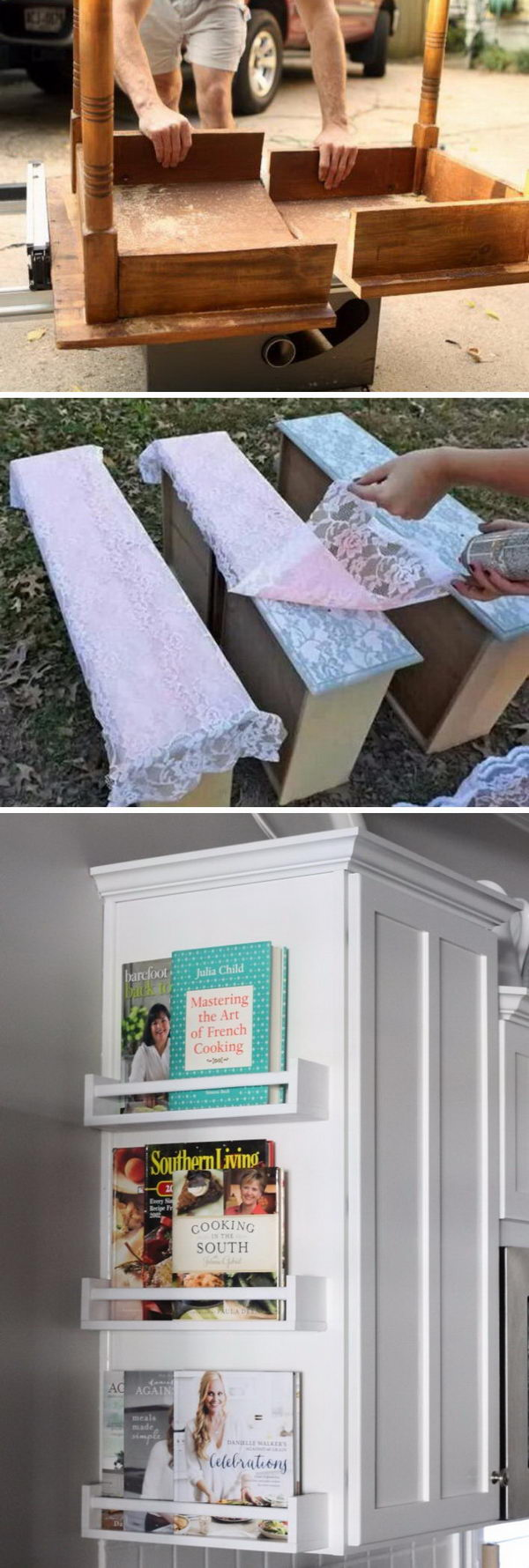 Cool Furniture Transformations or Makeovers.