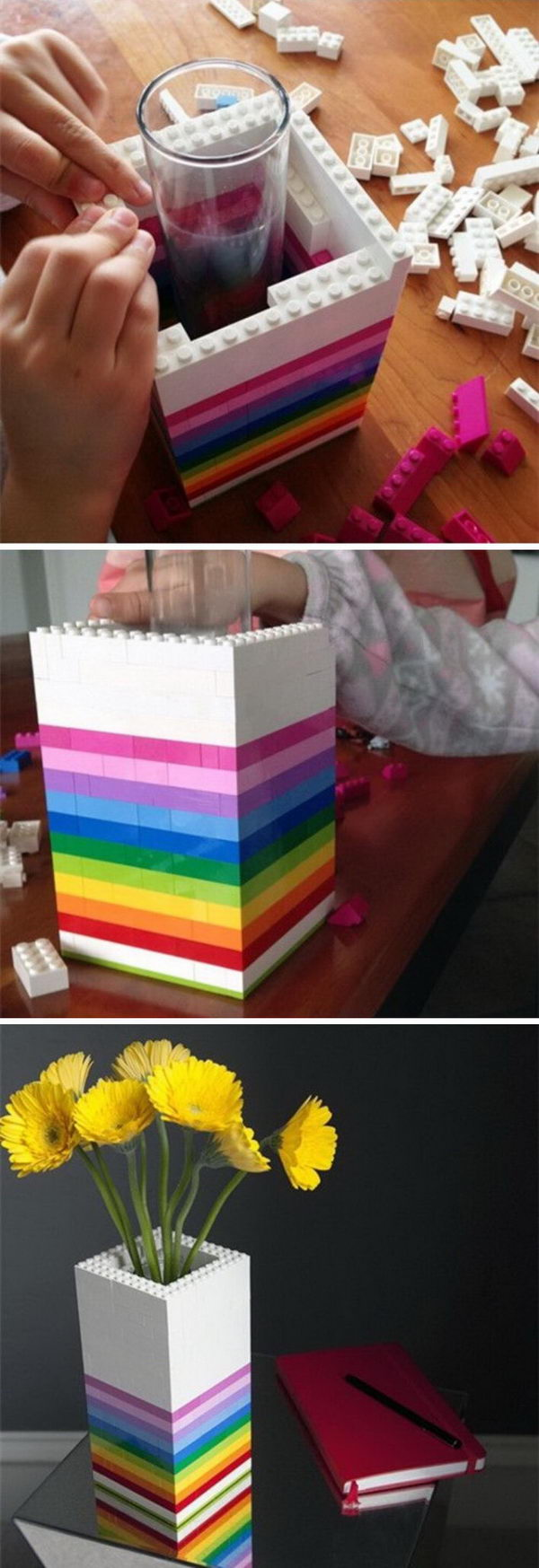 DIY Lego Vase.